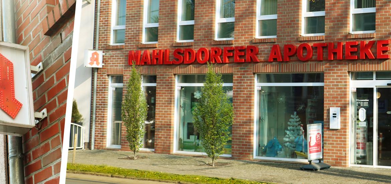 Mahlsdorfer Apotheke Berlin Außenaufnahme